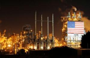 A general view of the Tesoro refinery in Carson, California