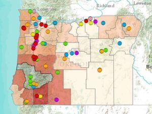 Oregon's Bioenergy Resource Map thumbnail