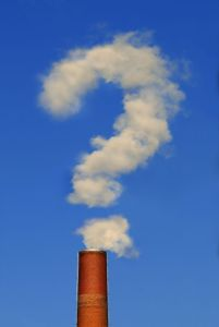 smokestack question mark